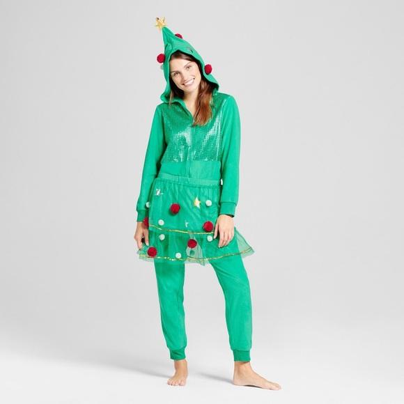 Christmas Tree Onesie.Wondershop Christmas Tree Onesie Nwt